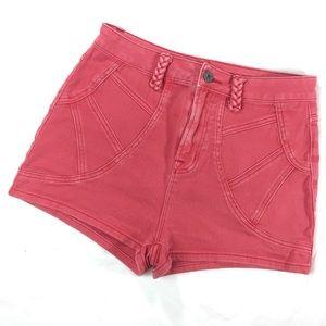 UO BDG Coral High Rise Waist Denim Jean Shorts
